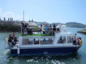 Вечеринки на моторной лодке в Лиссабоне